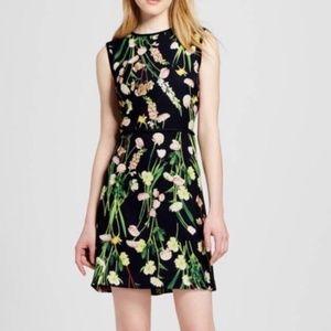 NWT Victoria Beckham Target FLORAL SHEATH Dress M